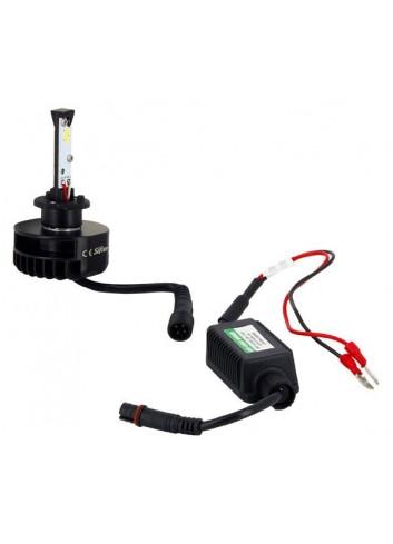 Ampoule H1 LED + Ballast...