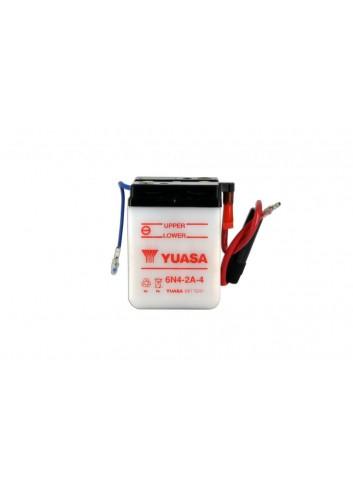 Batt Avec Entretien Yuasa Batterie 6N4-2A-4 Conventionnelle Avec Entretien - Livree Sans Acide