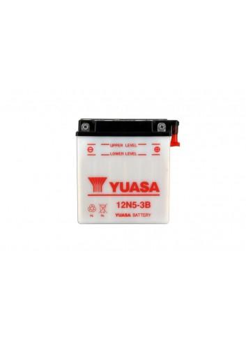 Batt Avec Entretien Yuasa Batterie 12N5-3B Conventionnelle Avec Entretien - Livree Sans Acide