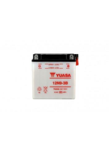 Batt Avec Entretien Yuasa Batterie 12N9-3B Conventionnelle Avec Entretien - Livree Sans Acide