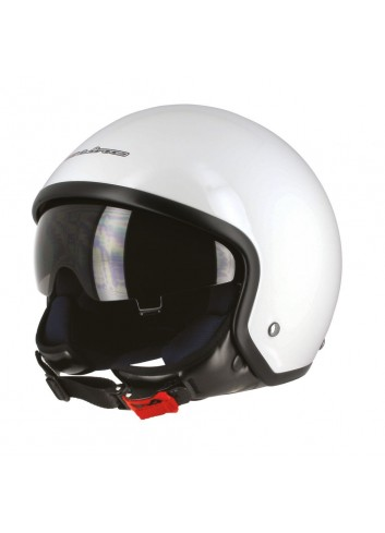 Jet S-Line Casque Jet S701 Blanc Visiere Fumee - Taille M