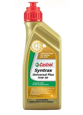 Boite d'huile Castrol Huile de Transmission 75W-90 SYNTRAX 1L - Universal Plus