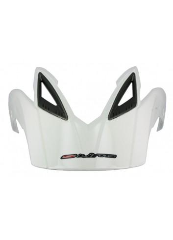 Accessoire Casque S-Line Casquette pour Casque Enduro S601 Blanc