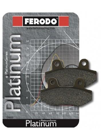 Standard Route Ferodo Plaquette de frein Organique Platinum Route/Off Road