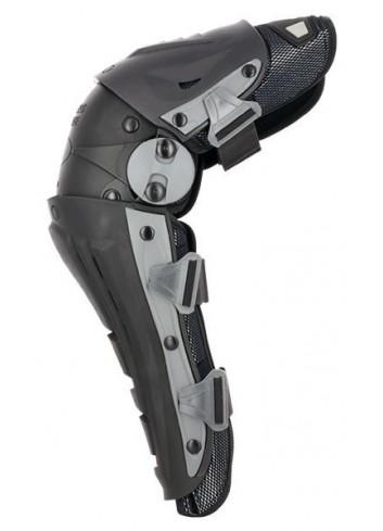 Genoux S-Line Genouilleres MX Articulees-Ventillees - Noir - Homologuees CE - Taille Unique