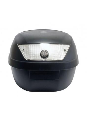 28 Litres S-Line Top Case 28L Noir Mat 39x39x29cm 1 Casque Livre avec Platine