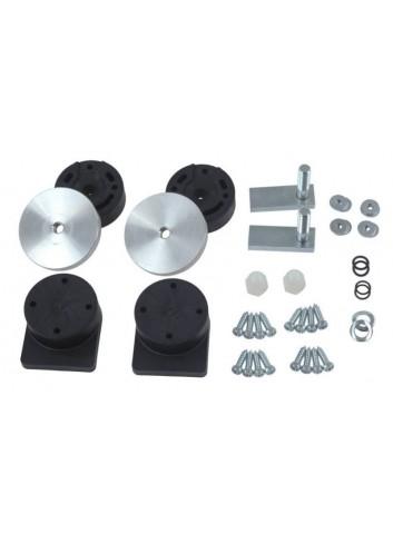 38 Litres S-Line Valise Laterale Enduro 38L Alu 45x24x39cm + Kit fixation 6.2 Kg -sans platine