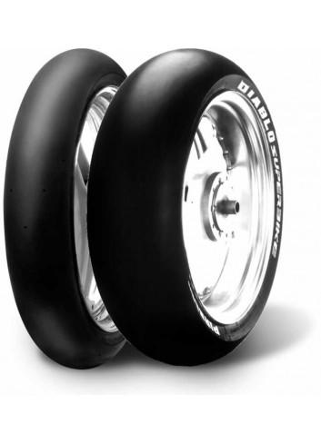 Slick Pirelli Pneu Competition 180/55 R 17 NHS TL Arriere DIABLO SUPERBIKE SC2