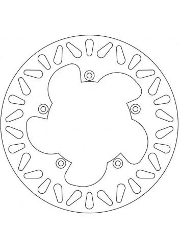 Standard Ferodo Disque de Frein Benelli O220x120x105.2 NbTrou5xO6.3 Ep4.5