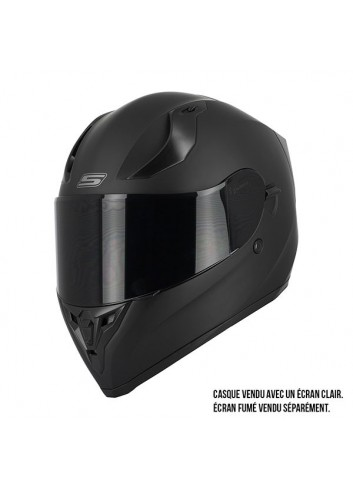 Casque Integral S-Line Casque Integral S441 VENGE + PINLOCK - Noir Mat - XS