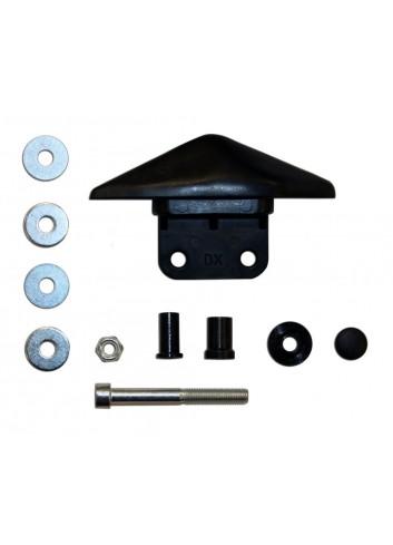 Kit Fixation Retro Far Kit Modif Retroviseur TMax530 Droit YAMAHA XP 530 T-MAX / ABS Vendu a lUnite Kit Vis Guidon+Cache Retro