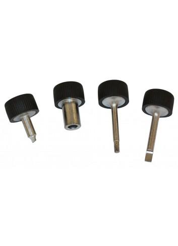 Réglage Carburation  Outils pour Carburateurs Keihin FCR 6 pans 6mm, allen 3mm 2 outils de reglages