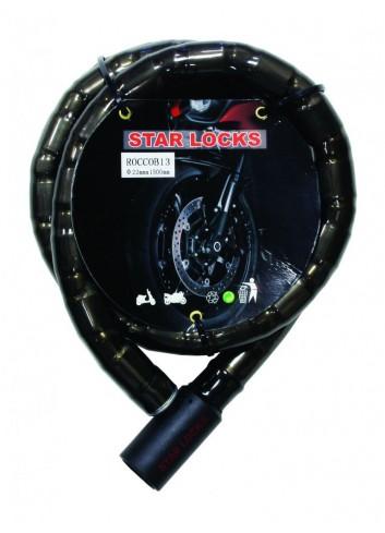 Câble Articulé Star Lock Antivol Cable Articule O22mm x 1M50