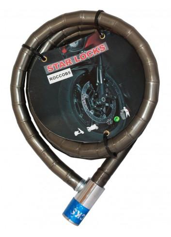 Câble Articulé Star Lock Antivol Cable Articule O18mm x 1M50 Gaine Fumee