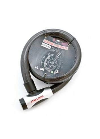 Câble Articulé Star Lock Antivol Cable Articule O25mm x 1M50 Gaine Fumee