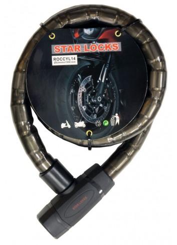 Câble Articulé Star Lock Antivol Cable Articule (O22mm x 1M50)