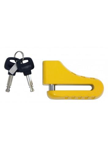 Protection Antivol Bloque Disque Star Lock Antivol Bloque Disque Moto O10mm Jaune