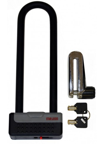 Antivol U Star Lock Antivol U + Bloque Disque 50mm x 230mm