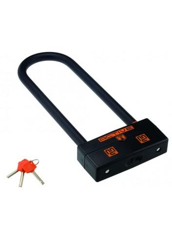 Antivol U Maggi Antivol U avec Alarme 95mm x 250mm Protection Physique et Sonore Homologue SRA/NF/FFMC