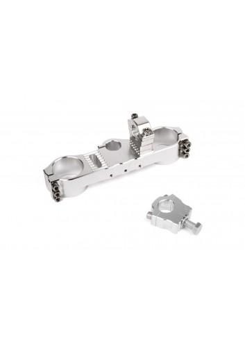 Té de Fourche Kyoto Te de Fouche Superieur KTM Offset 18mm + Pontet 35mm pour Guidons