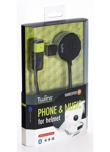 Kit Mains Libres Twiins Kit Mains Libres Casque Handsfree 1.0 Mono