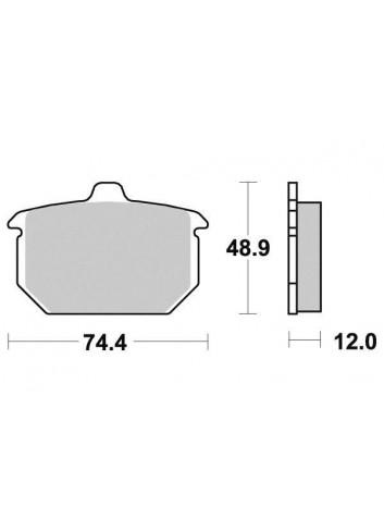 Compétition Vesrah Large gamme de Plaquettes de frein Vesrah Carbone