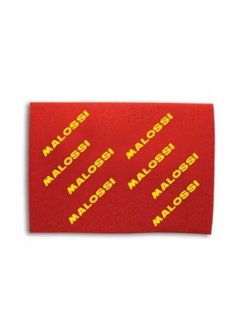 Filtre à Air Universel Malossi Feuille Mousse Filtre a Air RED SPONGE 40x30x1.6mm