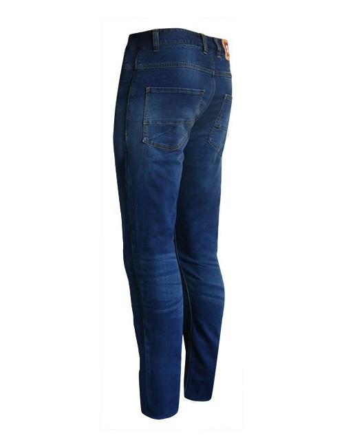 Jean Avec Coques de Protection S-Line Pantalon Jean Regular Homme - Protections CE - Bleu - Taille 38/40 32US