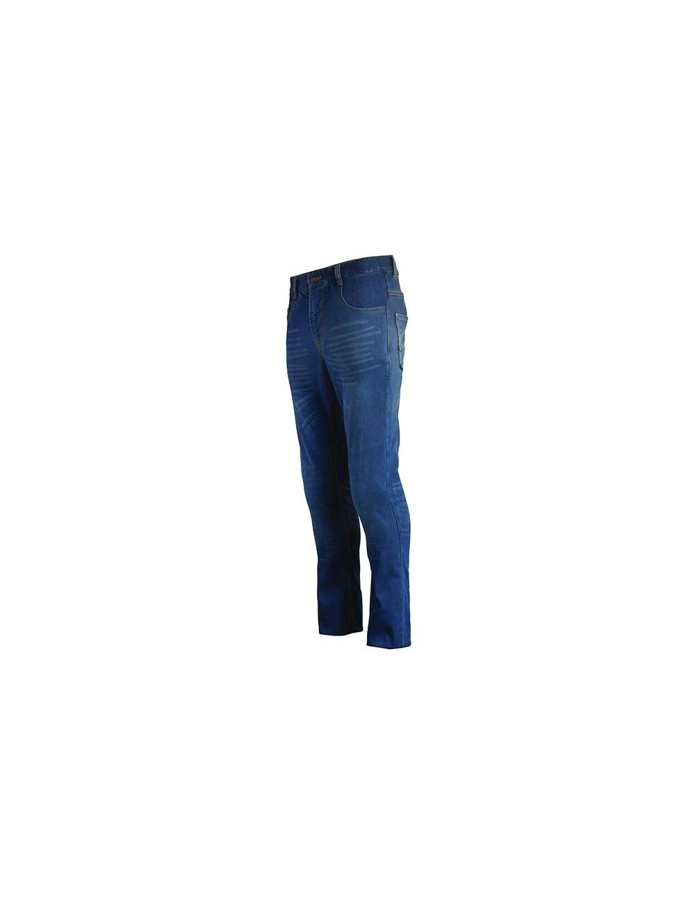 Jean Avec Coques de Protection S-Line Pantalon Jean Regular Homme - Protections CE - Bleu - Taille 40/42 34US