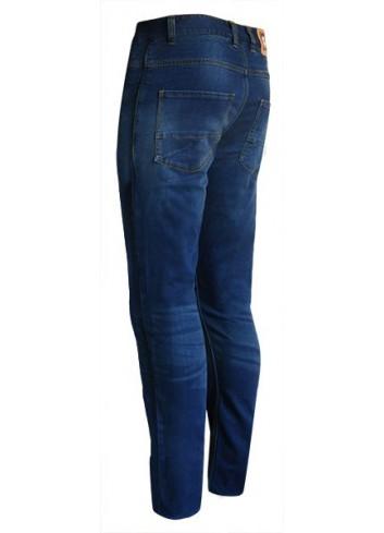Jean Avec Coques de Protection S-Line Pantalon Jean Regular Homme - Protections CE - Bleu - Taille 48/50 42US