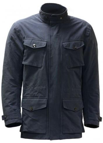 Route S-Line Veste Textile BUSINESS CLASS Homme - Bleue - Taille XL