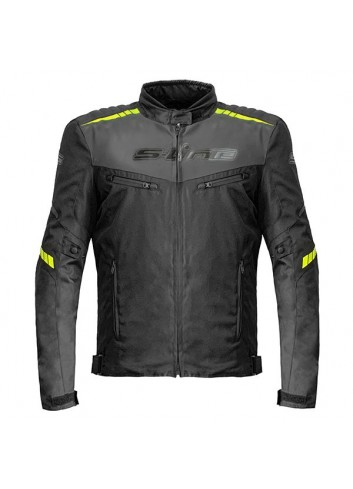 Route S-Line Blouson All Seasons EVO XL Noir / Jaune Fluo
