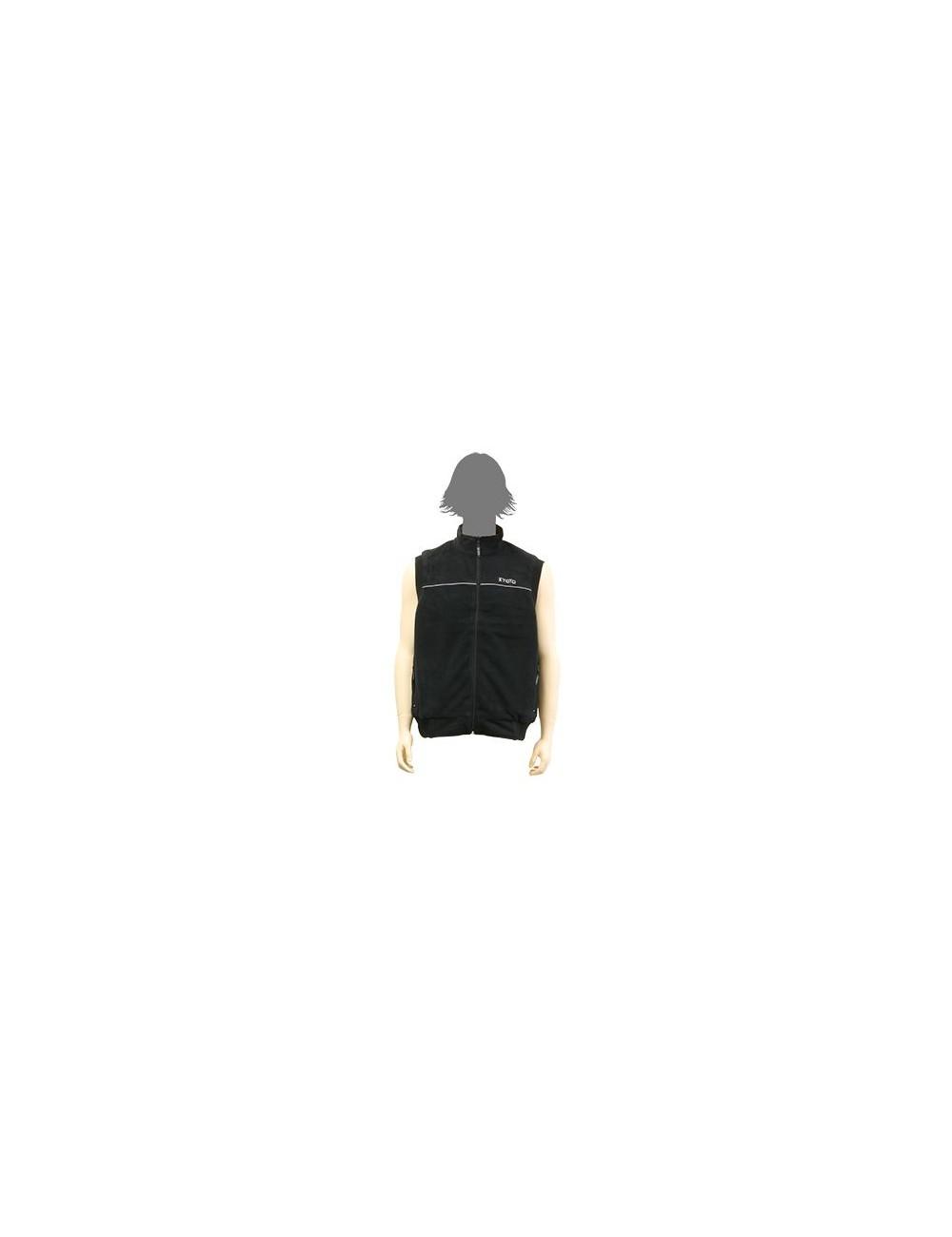 Veste Polaire Kyoto Veste Polaire 4 Femme Taille S Protection Froid sans Manche 100% Polyester Noire