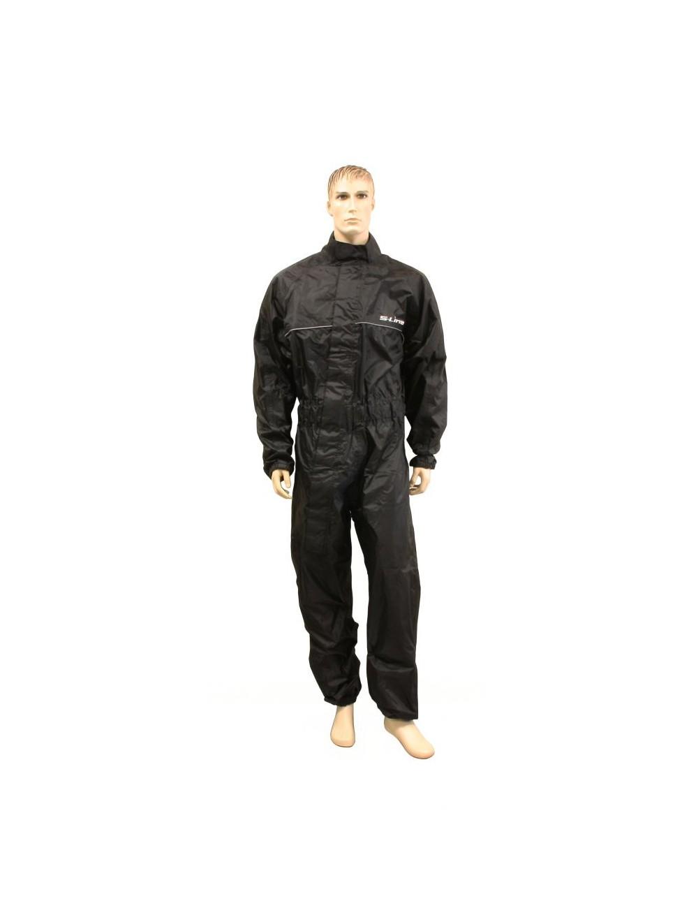 Combi Pluie S-Line Combinaison Pluie Taille XXL 100% Etanche Polyester + PVC