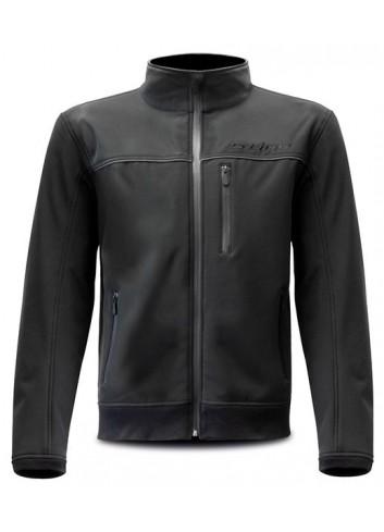 Route Eté Avec Coques S-Line Blouson Moto Softshell - Noir - Protections CE - Taille L