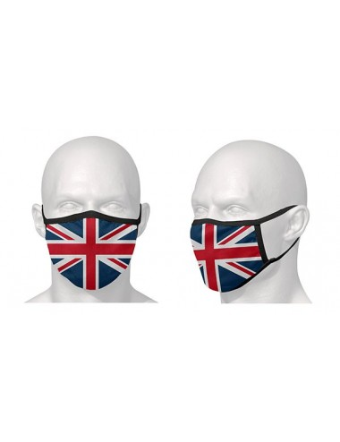 Masque Route S-Line Masque de protection - Vendu a lunite / Motif drapeau Anglais