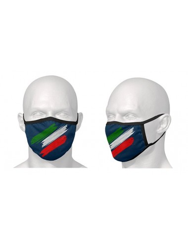 Masque Route S-Line Masque de protection - Vendu a lunite / Motif drapeau Italien