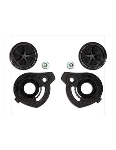 Accessoire Casque S-Line Kit Visserie Noir pour Casque Osone S200 Plaquette visiere + attaches