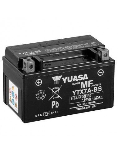Batterie  Ytx7a-bs SLA AGM...