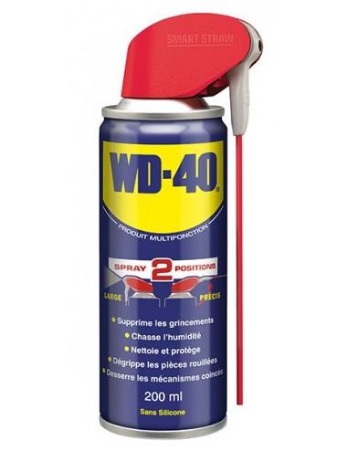 Aérosol Multi Fonction Wd40 WD-40 200ml Double SPRAY 20 Vendu unite Support de vente offert par 20