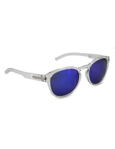Solaires S-Line Lunette de soleil - Couleur transparente - Miroir Irridium Bleu Cat.3 - CE 100% UV Prot